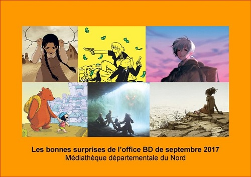Les bonnes surprises de l'office BD - septembre 2017